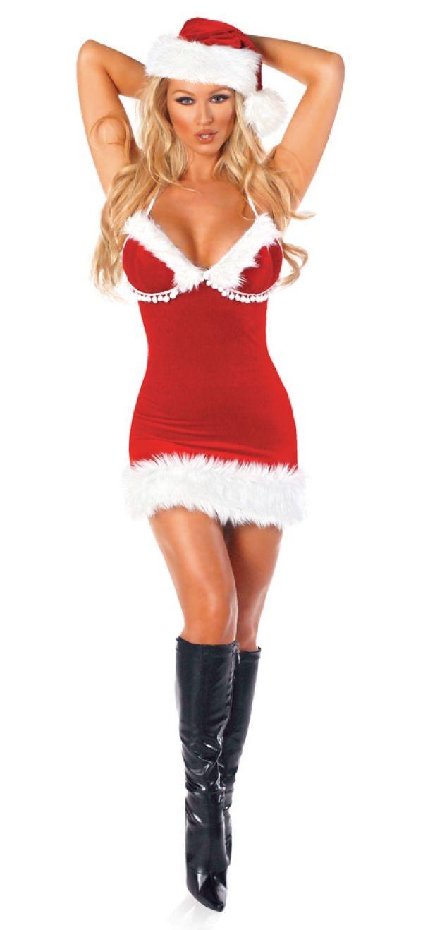 レディースサンタークリスマスコスプレ衣装-RR20134-0