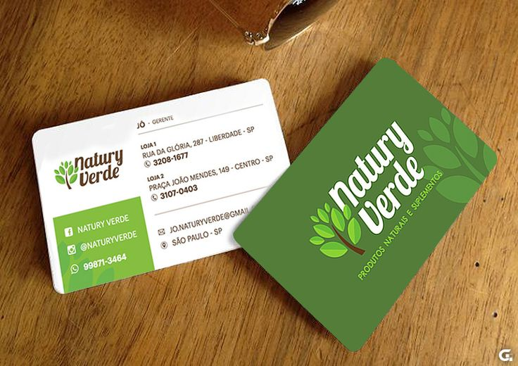 Business Card - Natury Verde