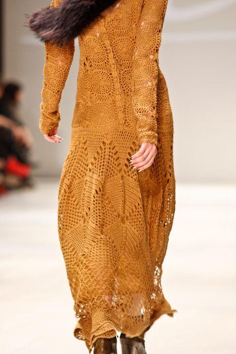 stupendous crochet dress!