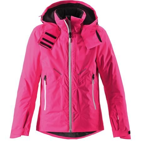 Reima Куртка Reimatec® Reima  — 8699р. ------------------------- Куртка Reimatec® Reima (Рейма), розовый от известного финского производителя теплой детской одежды Reima. Выполнена из полиэстера высокого качества с полиуретановым покрытием. Материал обладает воздухопроницаемыми, грязе и водоотталкивающими свойствами. Состав ткани защищает от потери цвета и формы даже при длительном использовании. Куртка имеет приталенный силуэт с удлиненной спинкой. У изделия – регулируемый капюшон…