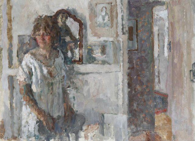 Bernard Dunstan - Visit to the studio