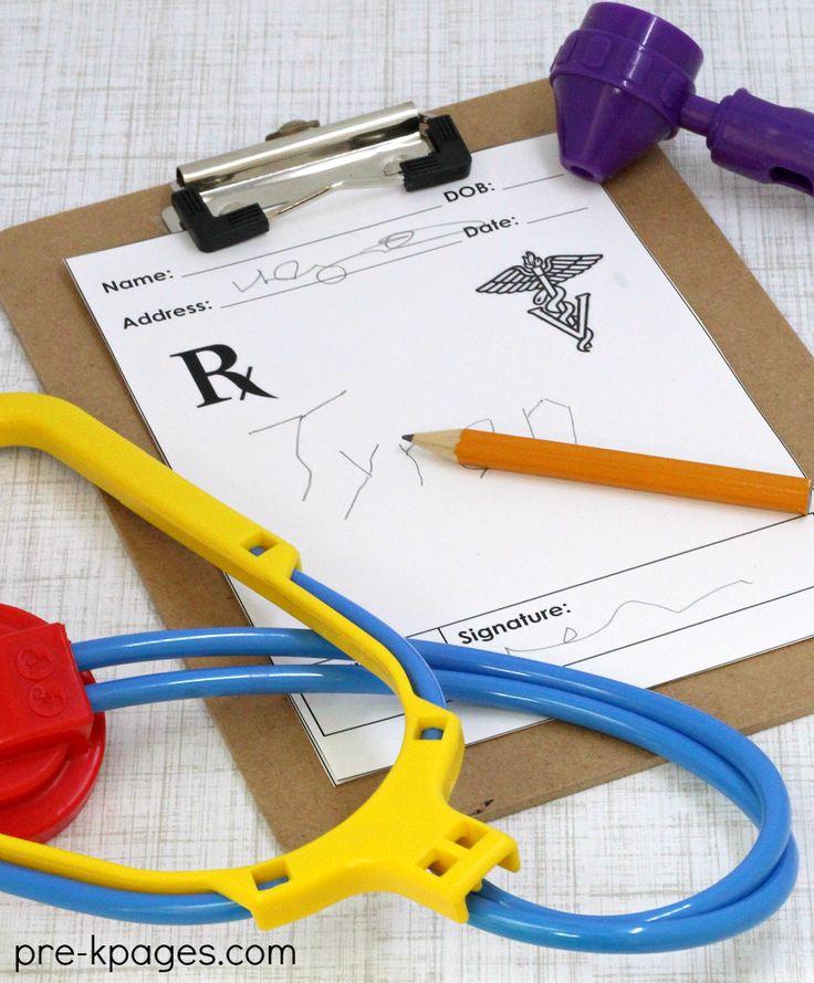 Pretend Play Vet Clinic for Preschool