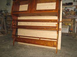 Piattaia in legno vecchio reciclato