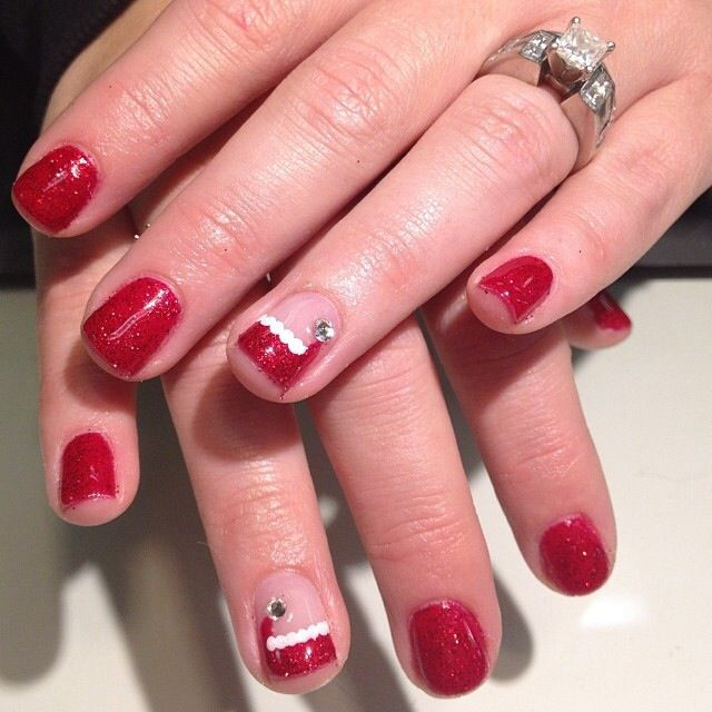 Christmas Nails Shellac: 17 Best Images About Nails On Pinterest