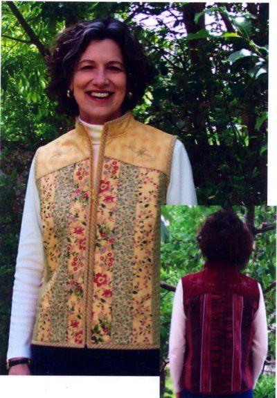 Quilt as you go vest pattern