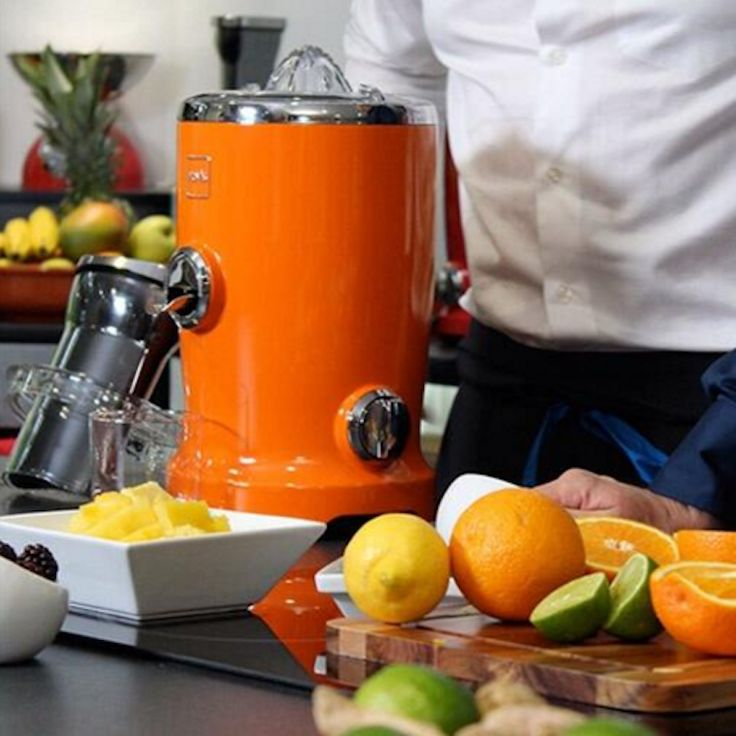 the new all in one nova vita juicer// vitamix juicer in awesome colors.