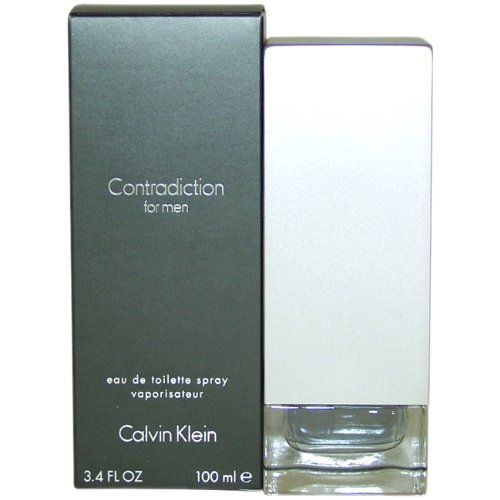 Contradiction by Calvin Klein for Men, Eau De Toilette Spray, 3.4 Ounce