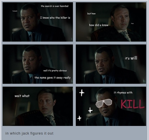 In which jack figures it out hannibal pinterest - Hannibal lecter zitate ...