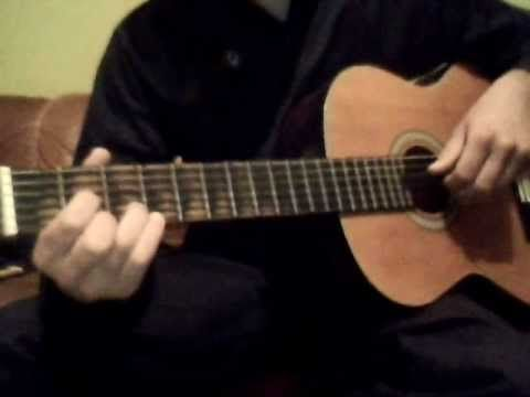 ▶ Mélodie simple à la guitare 3 accords - Morceau de guitare pour débutant - YouTube