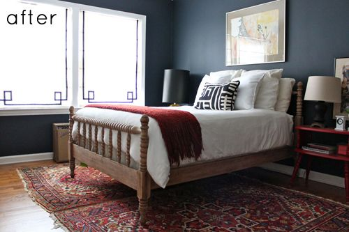 Love the bedroom, love the paint, love everything.... perfect