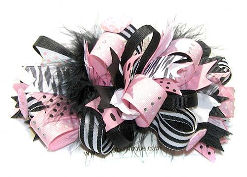 How to make Loopy Hair Bows