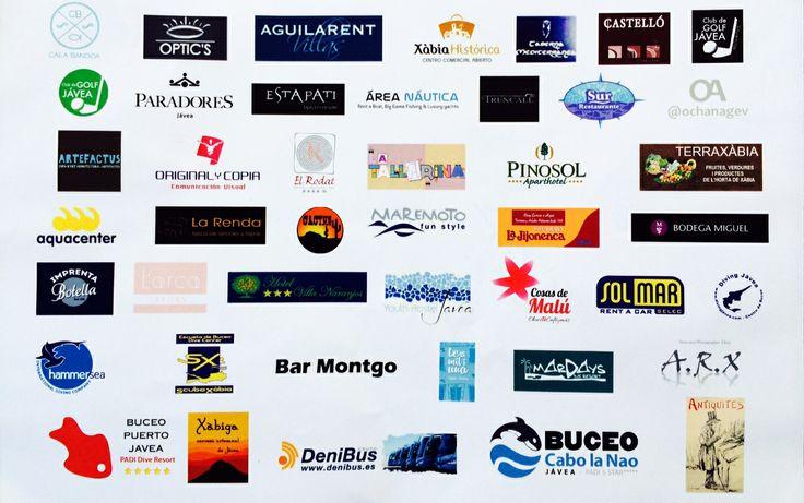 Muchas gracias a todos los patrocinadores del funtrip #xabia365 Vosotros sois las columnas de este evento en #Javea #Xàbia #costablanca #spain !!!
