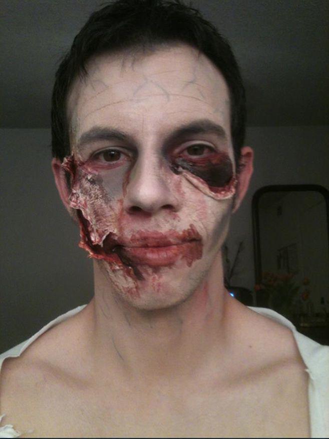 Zombie make-up insperation