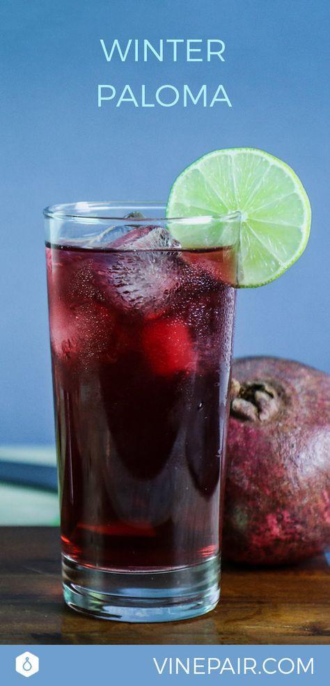 The Winter Paloma Recipe Recipe #tequila #Cocktail #recipe