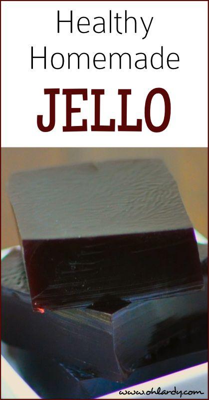 How to Make Healthy Homemade Jello #guthealth #healing #kids