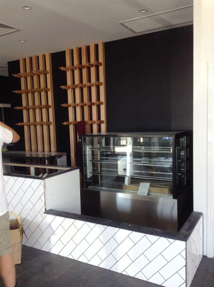 Halfway through our workshopdine Bakery design
