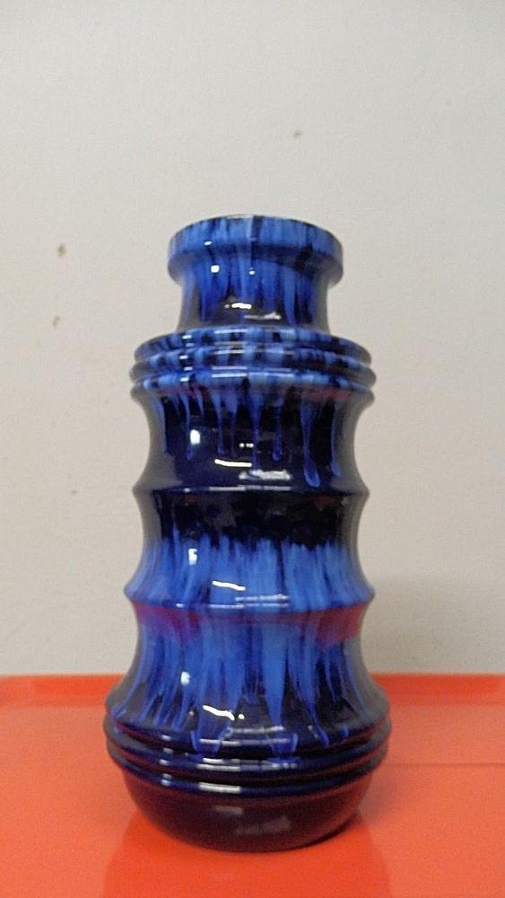 Scheurich? 60er 70er Jahre vintage keramik Vase selten 39,5 cm hoch | eBay