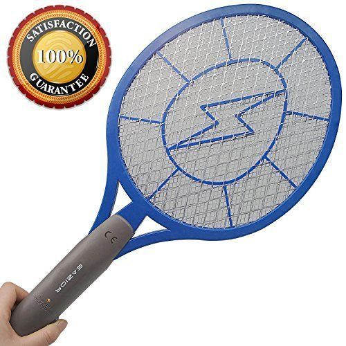 Bug Zapper Electric Mosquito Insect Fly Racket Swatter Indoor Outdoor Trap NEW  #BugZapper