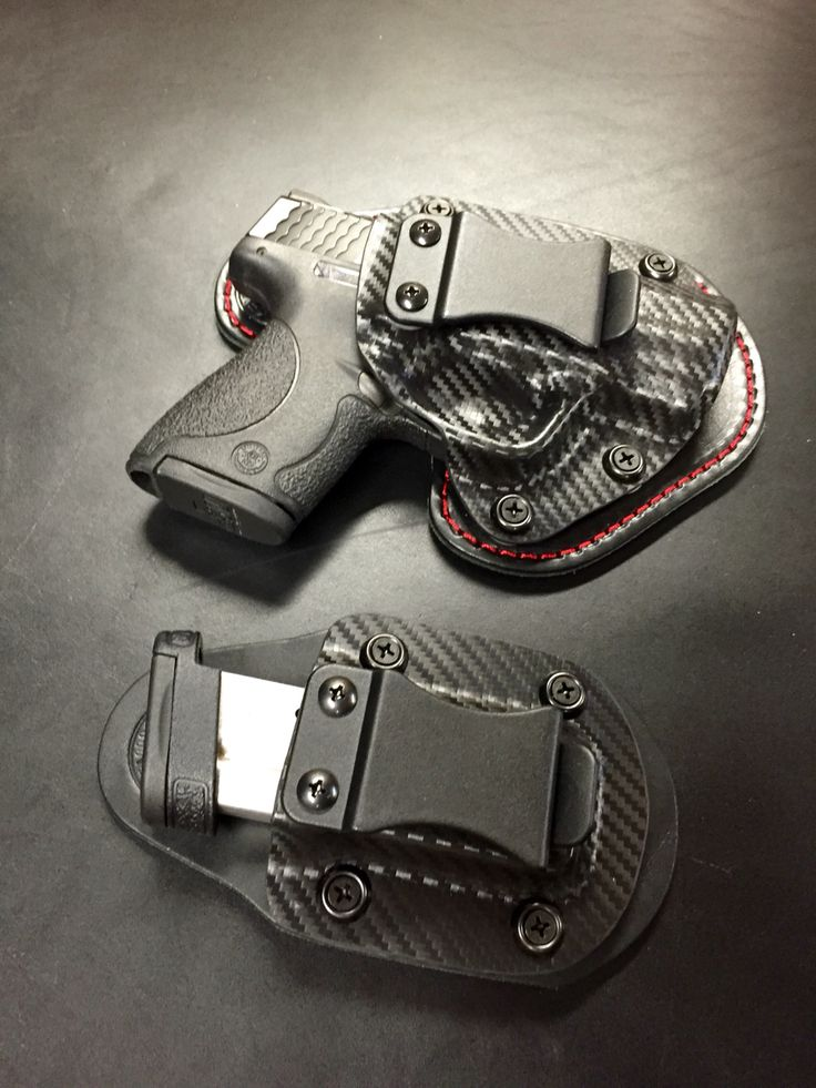 Smith and Wesson Shield 9/40    Nano Rapid On-off hybrid holster with Micro Magazine Carrier. Speed up and simplify the pistol loading process  with the RAE Industries Magazine Loader. http://www.amazon.com/shops/raeind