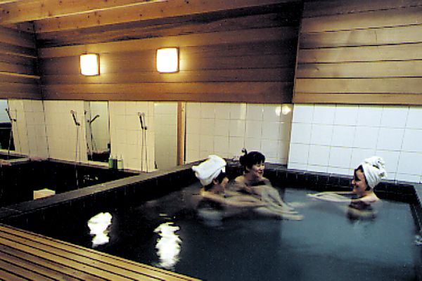 Onsen And Shiatsu At The Japanese Bath House In