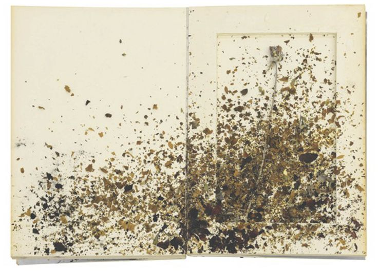 "from series ""For Jean Genet"" 1969  Anselm Kiefer."