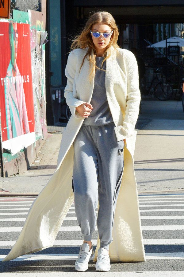 Celebrities can't stop, won't stop wearing Olivia von Halle's luxe cashmere tracksuits.