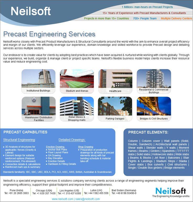 Precast Engineering Services at Neilsoft
