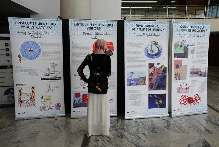 Avec Plantu, les caricaturistes marocains se mobilisent pour défendre le dessin de presse