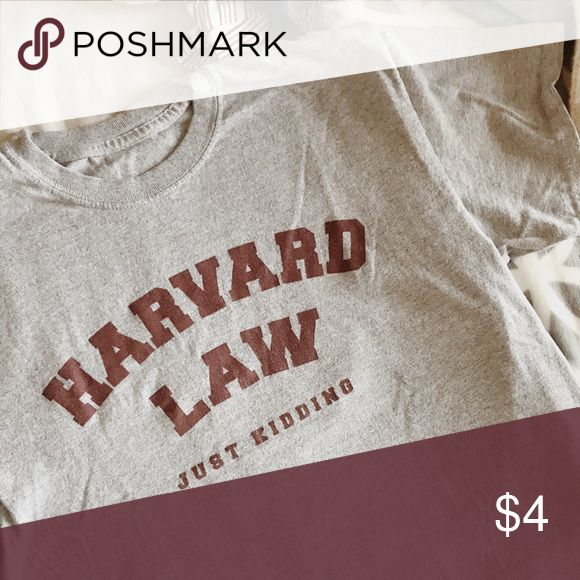 I just added this listing on Poshmark: Harvard Law tee. #shopmycloset #poshmark #fashion #shopping #style #forsale #Tops