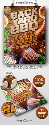 Print Templates - MMA Fight Night UFC Event Promo Flyer | GraphicRiver