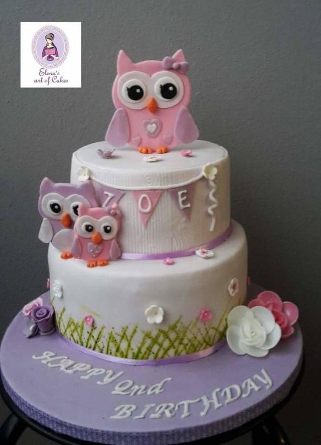 1747 Best Owl Cakes Images On Pinterest Owls Pretty Cakes And