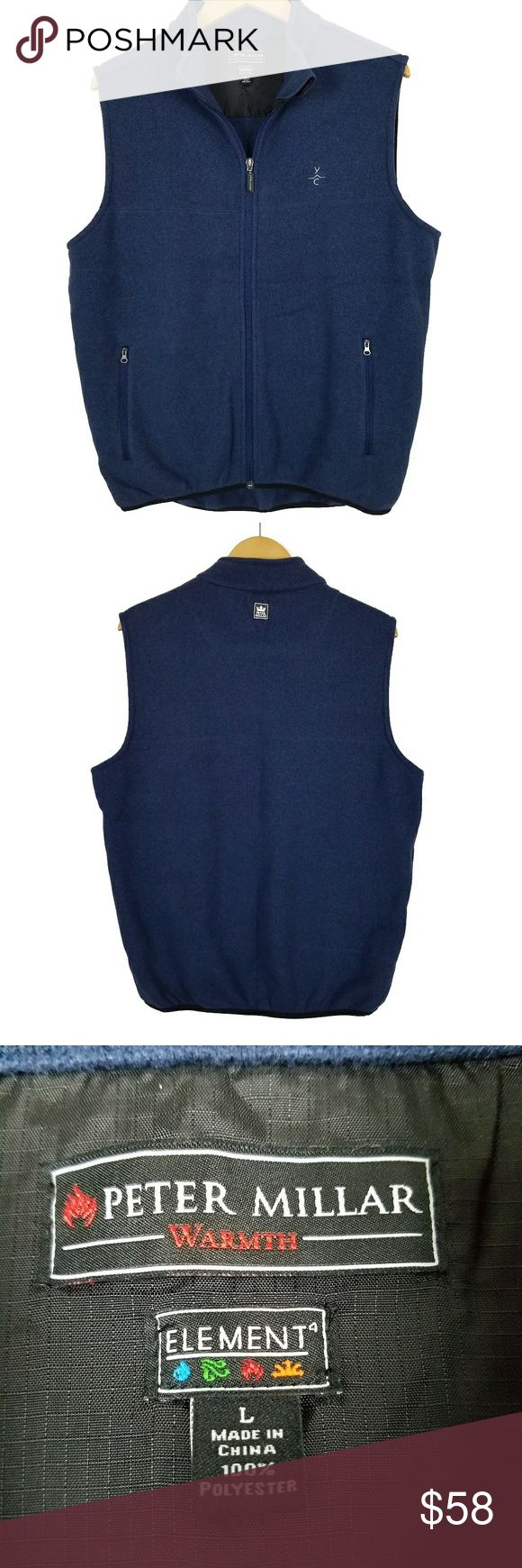 Peter Millar Warmth Element Golf Vest Full ZipUp Zip