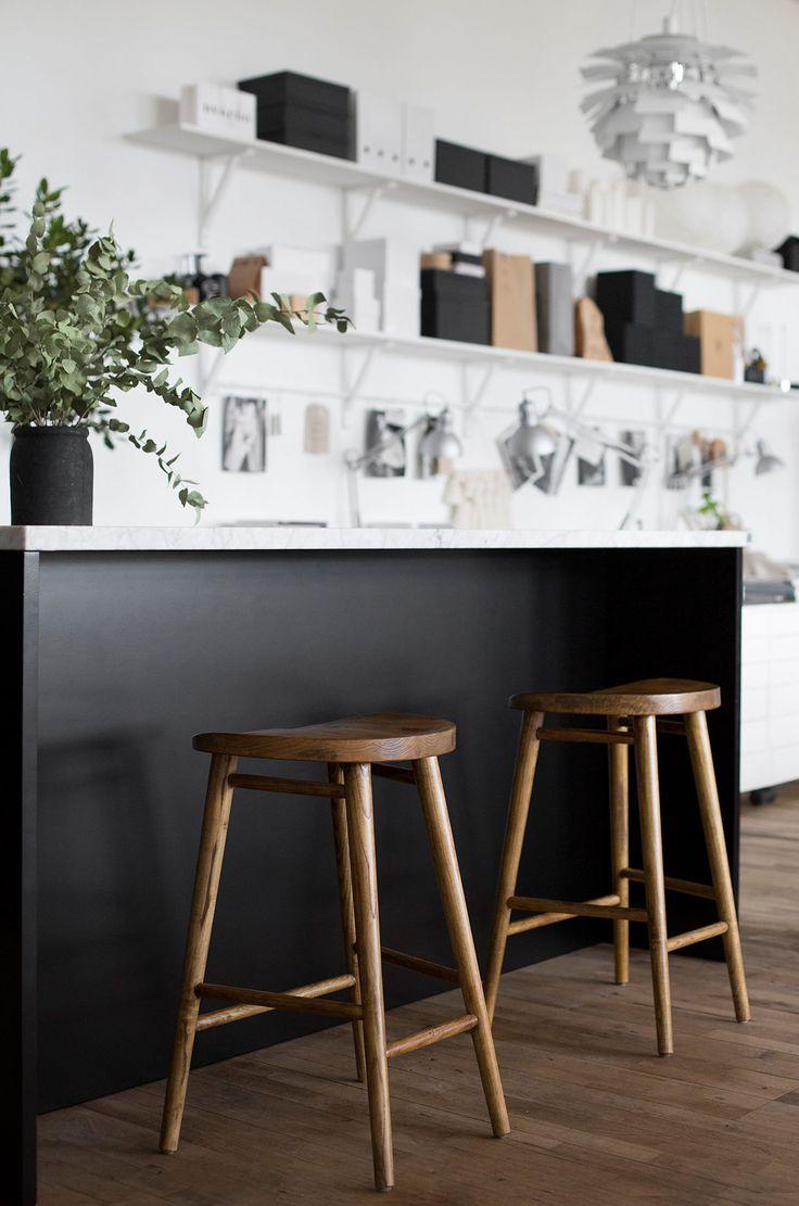 Köksinspiration - Trendenser samarbetar med Ballingslöv. Frida valde Bistro ask brunbets till sitt kök. | Ballingslöv