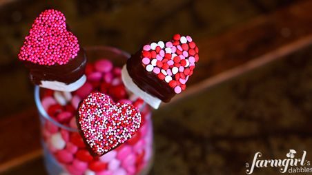 These Valentine's Day pops are a fun dessert idea to make with kids!