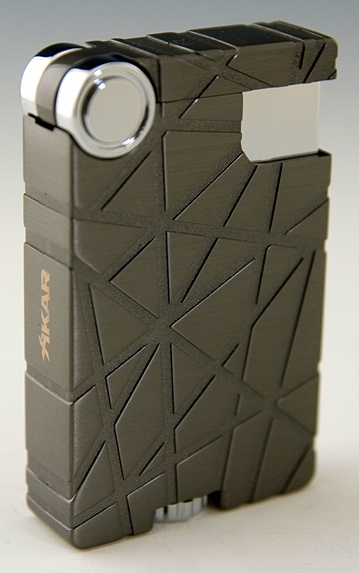 Xikar Crossover Gunmetal Cigar Lighter