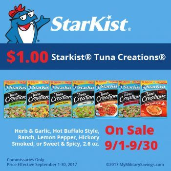 StarKist Tuna Creations Recipes and Savings | Our Military Life Blog