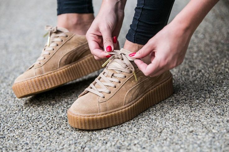 Puma Brown Rihanna