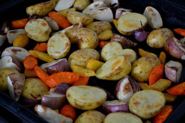 Makkelijk bijgerecht: geroosterde groentes