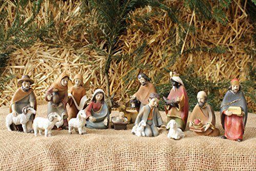 Krippenfiguren für Weihnachtskrippe, 15-teiliges Set K 036-10 10 cm hoch Krippenbaustudio Böhner http://www.amazon.de/dp/B00FA38J5A/ref=cm_sw_r_pi_dp_PgIqwb0BZ428Q