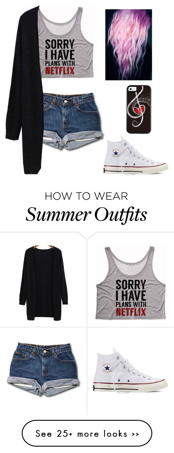 """""""Untitled #169"""" by amber-lynn99 on Polyvore featuring Converse"""