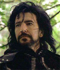 Alan Rickman as the Sheriff of Nottingham -- my first (not last) villain crush!