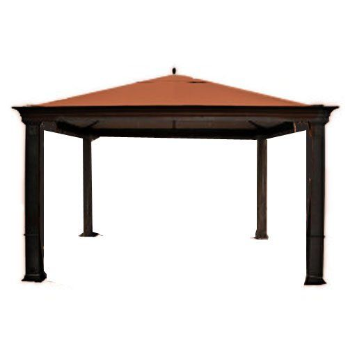 Tiverton Series 3 Gazebo Replacement Canopy  RipLock 350  Terra Cotta *** Click on the image for additional details.