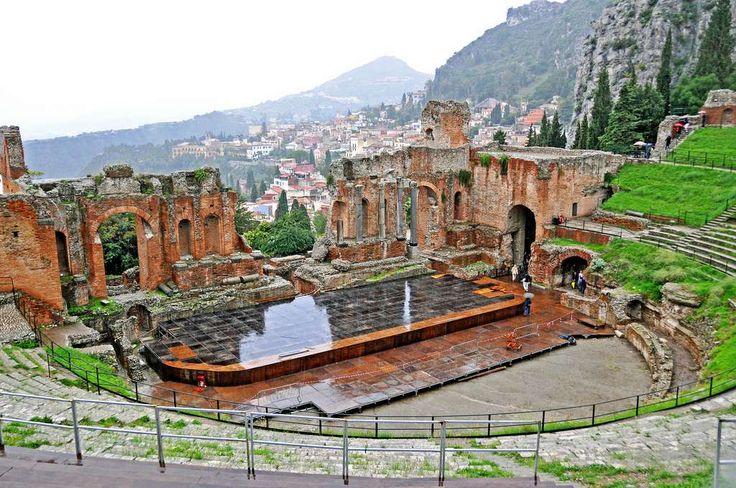 Temple Grec de Taormina