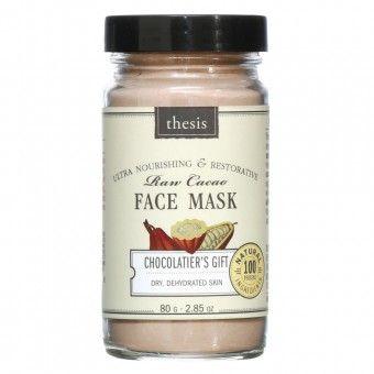 Masca faciala din cacao organica Chocolatier's Gift 80 g
