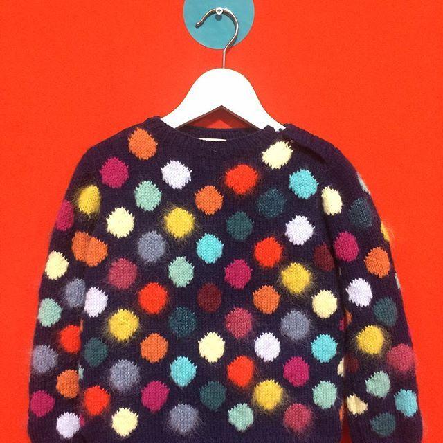 Our gorgeous handmade knit #wheresthatbear #madeinbritain #handmade #colour #newbrand