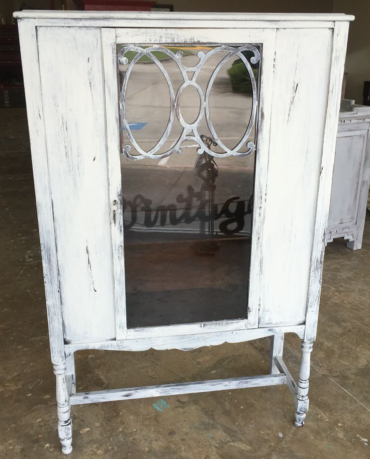 71 Best Images About My Shabby Chic Display Cabinets On