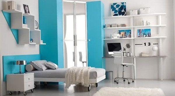 Cheap Teen lamps for girls | Chambre-ado-fille-bleu-et-blanc-600x330.jpg