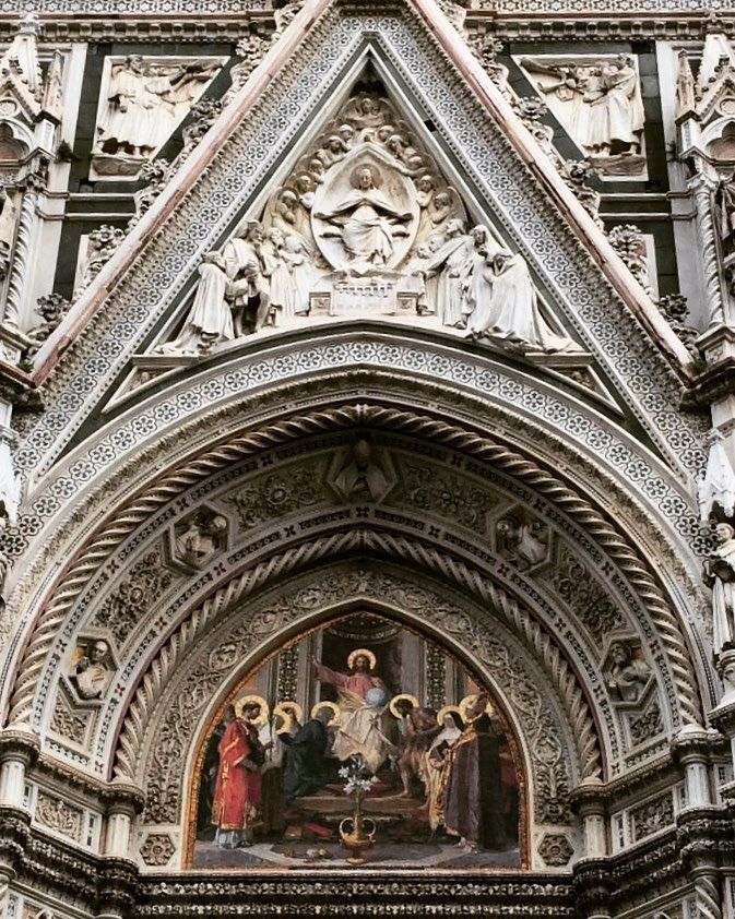 Florence - 2015. Please pray for my friend, Don Alessandro, who has been a priest and sacristan at the Duomo for 50 years! He's a joyful old man full of compassion, love, and a hint of goofiness.  #italy #beautifulchurches #duomofirenze #florence #firenze #duomo #jesus #saints #art #cathedral #catholicchurch #travel #sacristan #florenz #priest