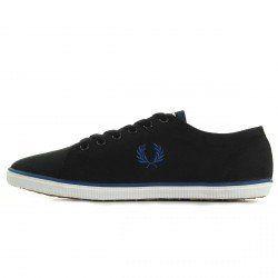 Fred Perry Kingston Twill Black B6259U198, Herren Sneaker - EU 42 - http://on-line-kaufen.de/fred-perry/42-fred-perry-kingston-twill-black-b6259u198