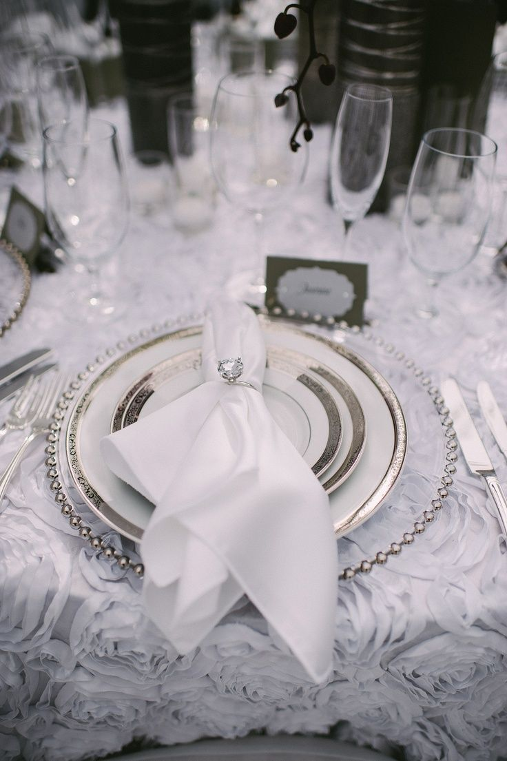 19 best Silver charger plates images on Pinterest | Wedding ideas ...
